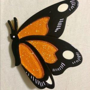 Designer Handmade Acrylic Butterfly Brooch